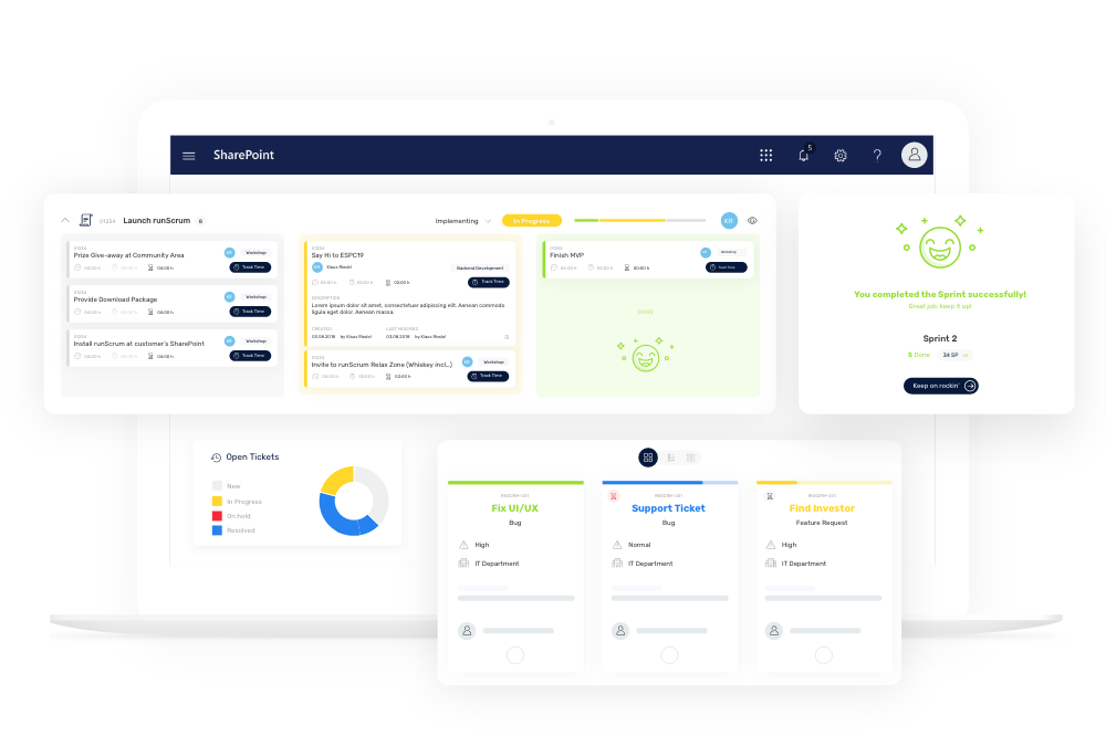 runScrum Agile Project Management Tools for SharePoint